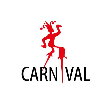 template design logo carnival. Vector illustration of icon Illustration