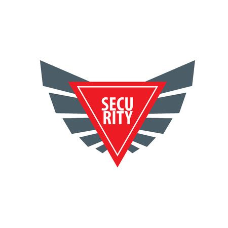pattern design logo security. Vector illustration of icon Illustration