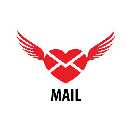 pattern design logo mail. Vector illustration of icon