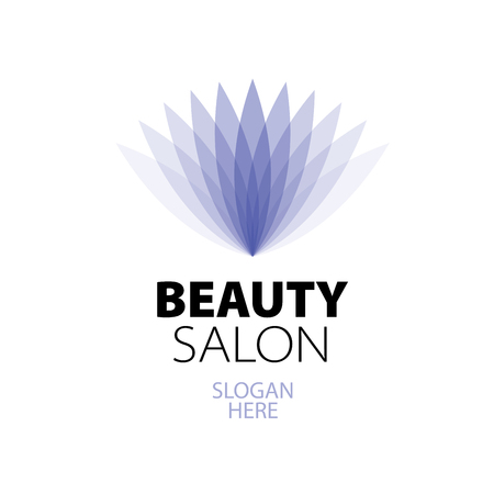Logo for cosmetic company, beauty salon, spa, wellness, boutique Illustration
