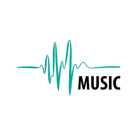 Modèle de conception logo musique. Vector illustration de l'icône Banque d'images - 67427021