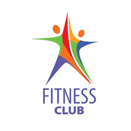 modèle de conception logo fitness. Vector illustration de l'icône