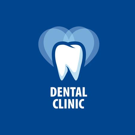 template design logo dental clinic. Vector illustration of icon