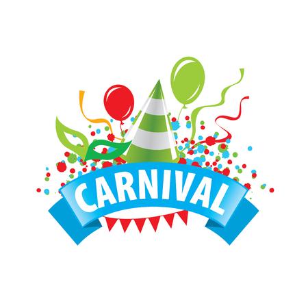 template design logo Carnival. Vector illustration of icon