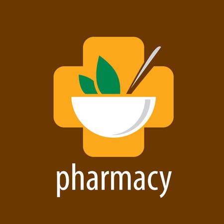 template design logo pharmacy. Vector illustration of icon