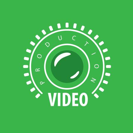 template design logo video. Vector illustration of icon
