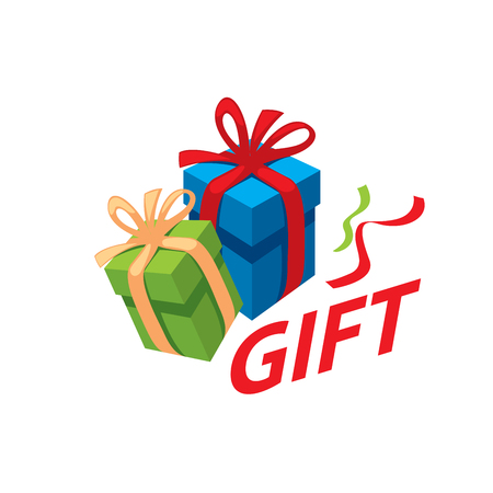 vector box with gifts