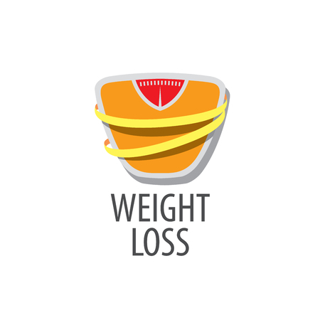 weight loss logo Stock Vector - 71130702