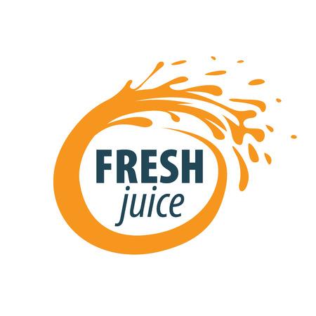 juice splash vector sign. Vector illustration of icon