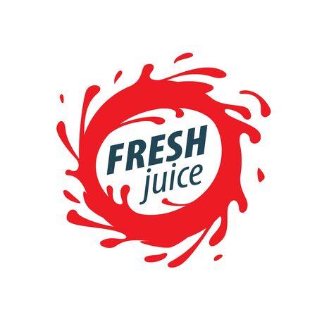 juice splash Vektor-Zeichen
