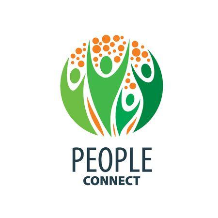 people: vector logo people