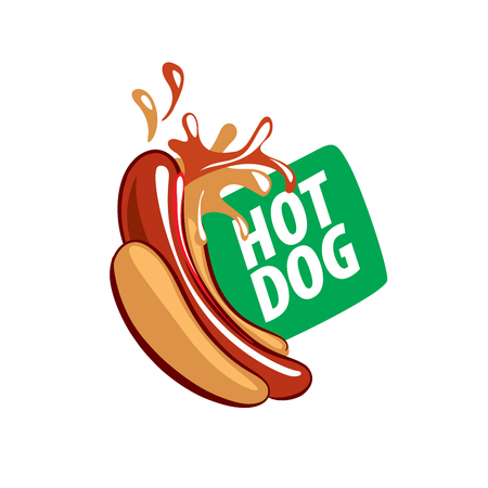 Vektor-Logo hot dog