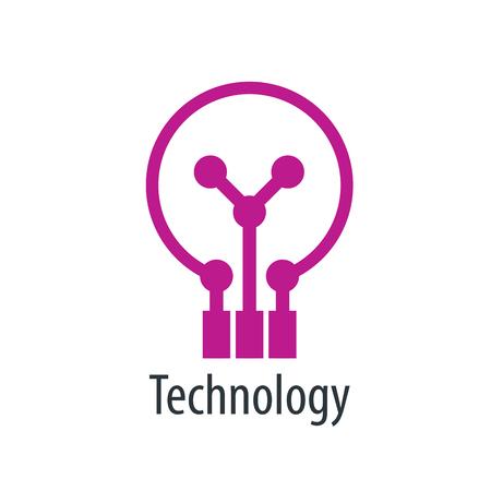 vector logo tecnología