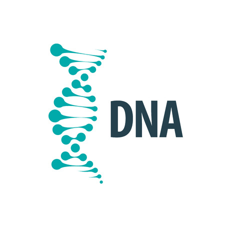 vector logo dna