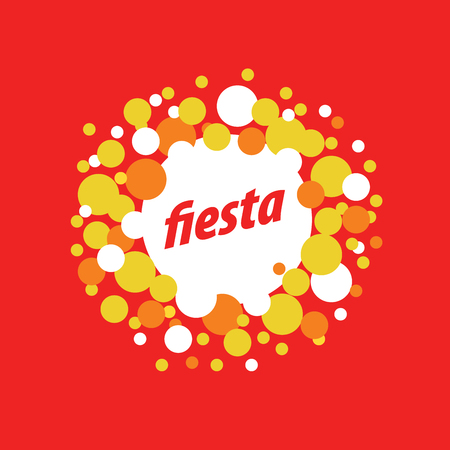 holiday vector logo Illustration