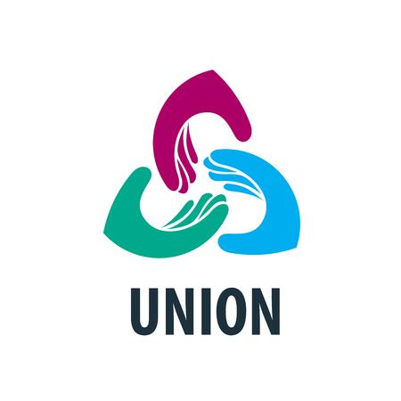 Logo vectoriel poignée de main Logo