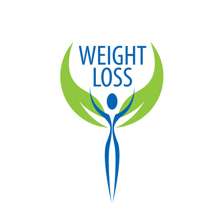 diet food: weight loss logo