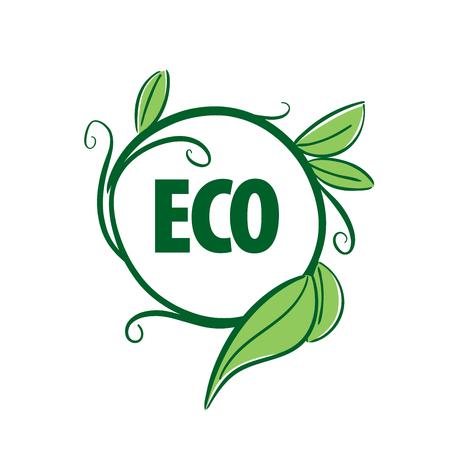logo vector eco Illustration