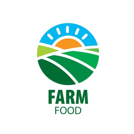 the arable land: logo farm food