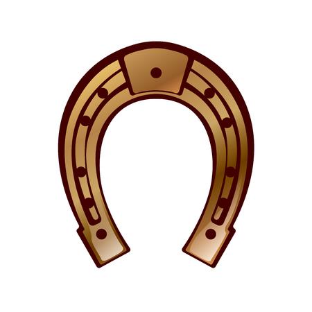 Glück - Hufeisen Design