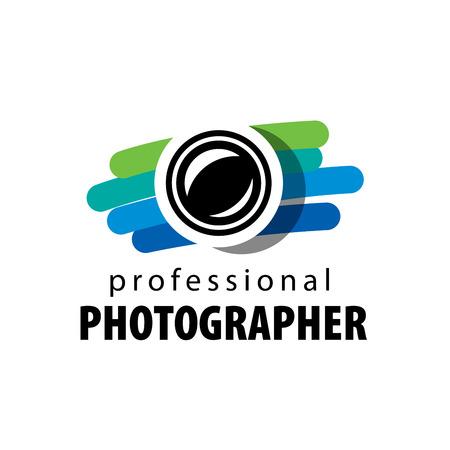 カメラマンのためのベクトルのロゴ 写真素材