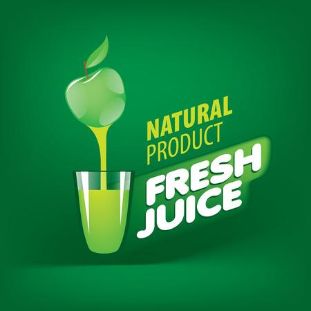 Logo of fresh juice
