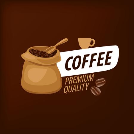 logo vectoriel pour le café