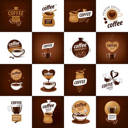 vector logo voor koffie