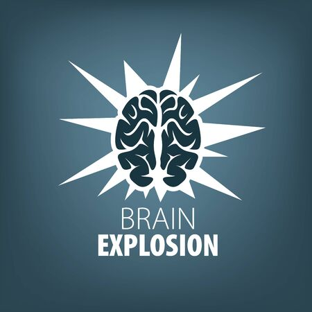 Vector brain Stock Photo