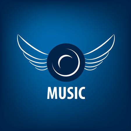 vector logo music Illustration