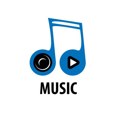vector logo music Standard-Bild - 90745672