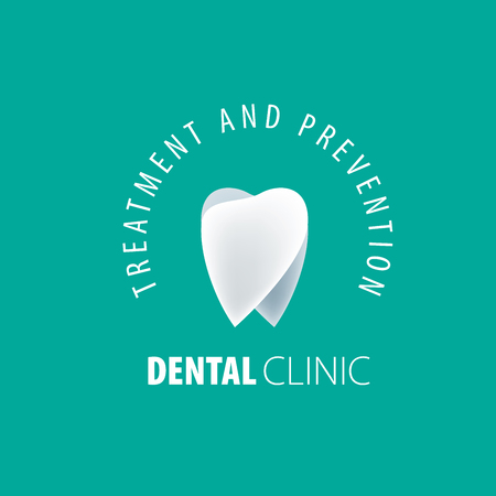 Vector logo for the treatment, prevention, and protection of the teeth.