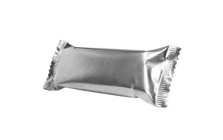 Embalaje de aluminio limpio Foto de archivo - 92044600
