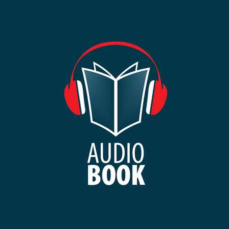 Audiobook. Vector icon template