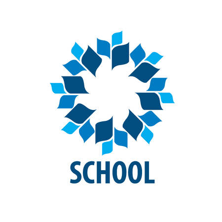 School symbol icon design.