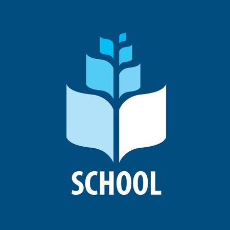 School symbol icon design.