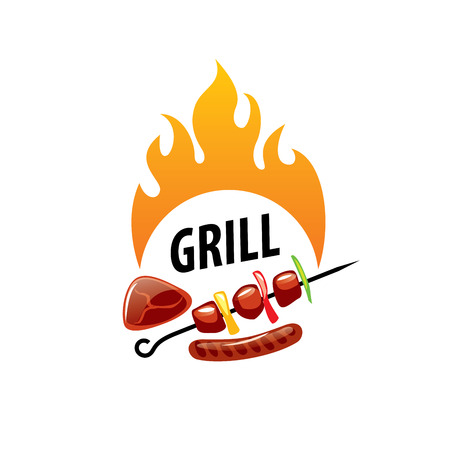 Barbecue party icon