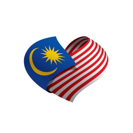 Bandiera della Malesia, illustrazione vettoriale