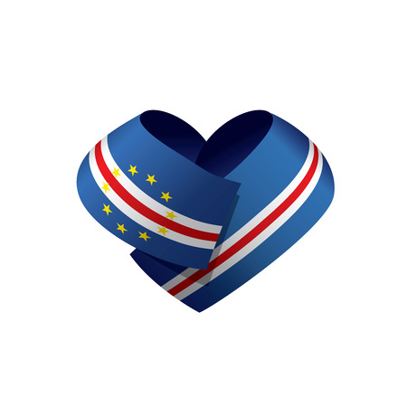 Cape Verde flag, vector illustration Illustration