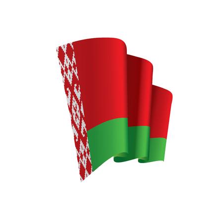 Belarus flag, vector illustration on a white background Vectores