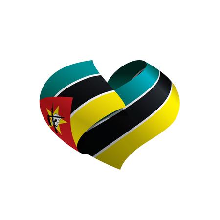 Mozambique flag, vector illustration