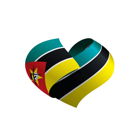 Mozambique flag, vector illustration