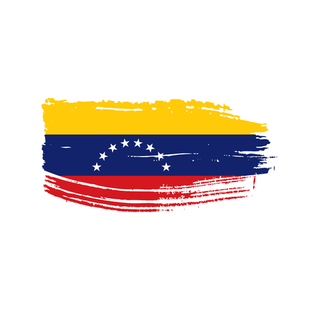 Venezuela flag, vector illustration