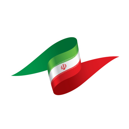 Iran flag illustration