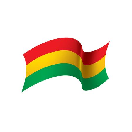 Bolivia flag, vector illustration Vector Illustration