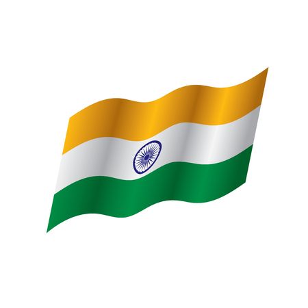 India flag, vector illustration