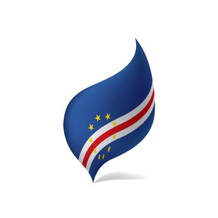 Cape Verde flag vector illustration