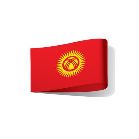 Kirghizia flag