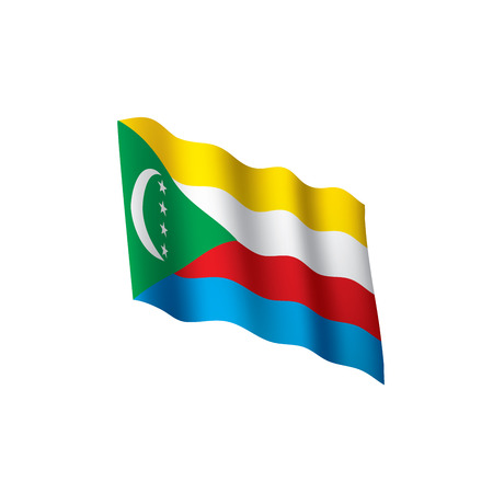 Comoros flag Illustration