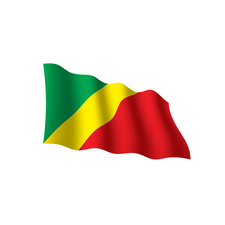 Congo flag Illustration